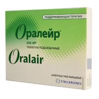 Оралейр Аллерген пыльцы луговых трав поддерживающий курс, таблетки, 30 шт.