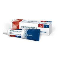 Тербинафин крем 1%, 15 г