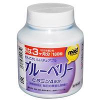 Orihiro Витамин А таблетки жевательные с экстрактом черники 180 шт.