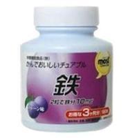 Orihiro Железо таблетки жевательные со вкусом сливы 180 шт.