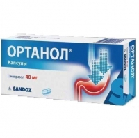 Ортанол капсулы 40 мг, 28 шт.