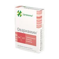 Овариамин таблетки, 40 шт.