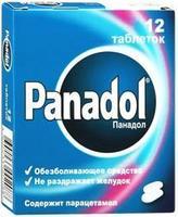 Панадол таблетки 500 мг, 12 шт.