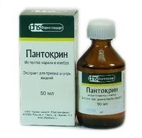 Пантокрин экстракт жидкий, 50 мл