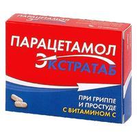 Парацетамол Экстратаб 500 мг+150 мг таблетки 20 шт.