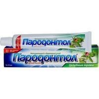 Пародонтол Целебные травы зубная паста 124 г