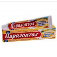 Пародонтол Прополис и мед паста зубная, 63 г