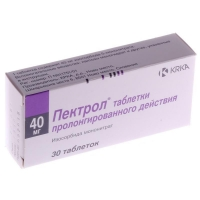 Пектрол таблетки ретард 40 мг, 30 шт.
