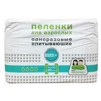 Пеленки Клинса впитывающие для взрослых 60х90 30 шт.