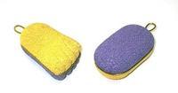 Пемза педикюрная Zinger (2-х стор. иск. камень) zo-PB-09 1 шт