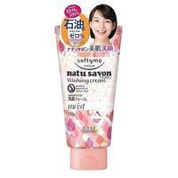 Пенка для лица Kose Очищающий с увлажняющим эффектом Cosmeport Natu Savon с фруктовым ароматом 130 г