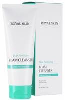 Пенка очищающая для умывания с коллагеном Royal Skin 150мл