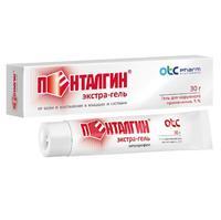 Пенталгин экстра-гель для наружного применения 5% 30 г