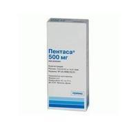 Пентаса таблетки ретард 500 мг, 100 шт.