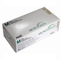 Перчатки Micro-Touch Ultra смотровые нестерильные неопудренные латексные M 100 шт.