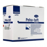 Перчатки Peha-taft classic/Пеха-тафт классик стерильные хирургические латексные опуд. р.9 50 пар