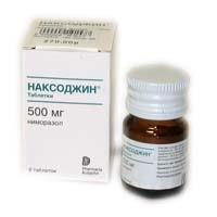 Наксоджин таблетки 500 мг, 6 шт.