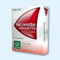 Никоретте трансдермальная терапевтическая система 15 мг/16 ч , 7 шт.