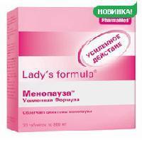 Леди-с формула менопауза усиленная формула таб. 860мг №30 (бад)