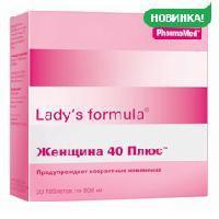 Леди-с формула женщина 40 плюс таб. №30 (бад)