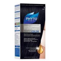 Phyto Color краска для волос черный оттенок 1
