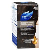 Phyto Color краска для волос шатен каштановый шоколад оттенок 4MC
