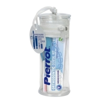 Pierrot Набор Orthodontic Kit (з/щ Travel Orthodontic+з/п Natural Freshness 25 мл+ воск+2 ёршика) 1 уп.