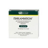 Пикамилон ампулы 10%, 2 мл, 10 шт.