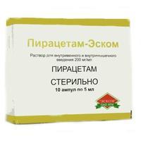 Пирацетам ампулы 20% , 5 мл , 10 шт.