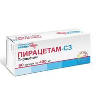 Пирацетам-СЗ капсулы 400 мг, 60 шт.