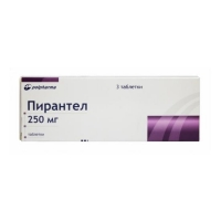 Пирантел таблетки 250 мг, 3 шт.