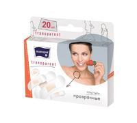 Пластырь Матопат Transparent прозрачные набор 20 шт.