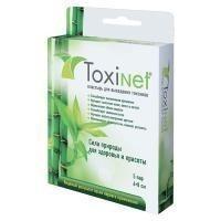 Пластырь Токсинет для выведения токсинов, 6х8 см, 5 пар