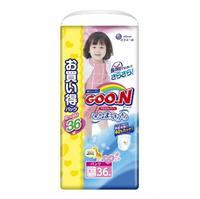 Подгузники ГУН (GOON) трусики для девочек XXL 13-25 кг 36 шт.