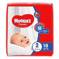 Подгузники Хаггис Классик 3-6 кг, 18 шт.