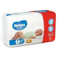 Подгузники Хаггис Классик 3-6 кг, 37 шт.