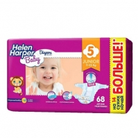 Подгузники Helen Harper Baby Junior 11-25кг 68 шт.