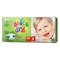 Подгузники Helen Harper Soft & Dry maxi 7-18кг 50 шт.