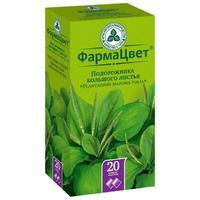 Подорожник листья фильтрпакетики, 1,5 г, 20 шт.