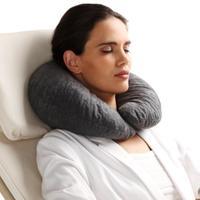 Подушка ортопедическая Trelax для отдыха и путешествий арт.П08 DIVA серый 1 шт.