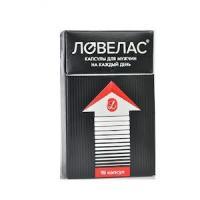 Ловелас капсулы 412 мг, 15 шт. (1 уп. (15 капсул, 412 мг))