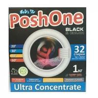 Порошок стиральный Пош Уан (Posh One) Blak&Color для темного и цветного белья 1кг 1кг