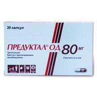 Предуктал ОД капсулы с пролонг высвобожд. 80 мг 30 шт.