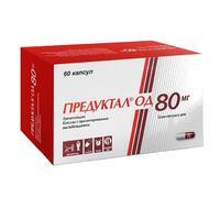 Предуктал ОД капсулы с пролонг высвобожд. 80 мг 60 шт.