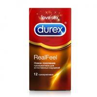 Презервативы Durex RealFeel упаковка, 12 шт.