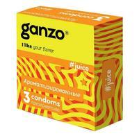 Презервативы Ganzo Juice ароматизированные 3 шт.