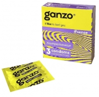 Презервативы Ganzo Sense тонкие 3 шт.