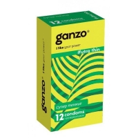 Презервативы Ganzo Ultra Thin сверхтонкие 12 шт.