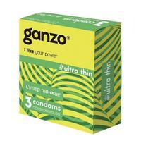 Презервативы Ganzo Ultra Thin сверхтонкие 3 шт.