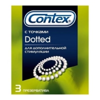 Презервативы Контекс Dotted упаковка, 3 шт.
